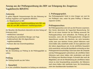 Yogaschule Braunschweig Verfälschung der PO