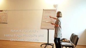 Tripada Yogalehrerausbildung  Klasse 3 Seminar 8 Mai 2015