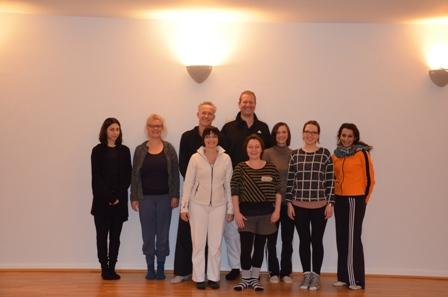 Klasse 4 Tripada Yogalehrerausbildung am 29.11.2015