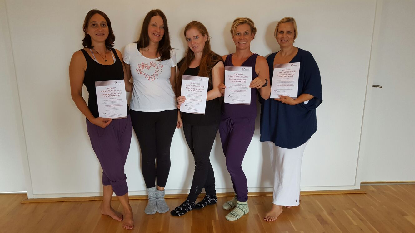 Tripada Yoga ® für werdende Mütter  – Fortbildung für Yogalehrer in der Tripada Akademie