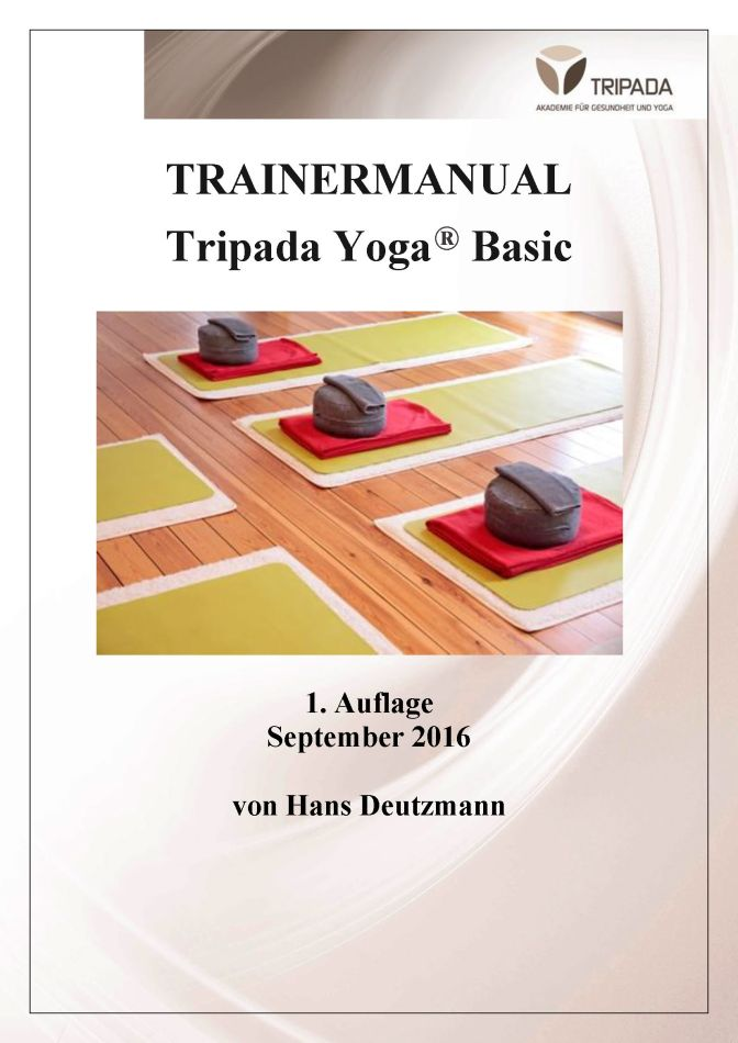 Trainermanal Tripada Yoga ® Basic erschienen