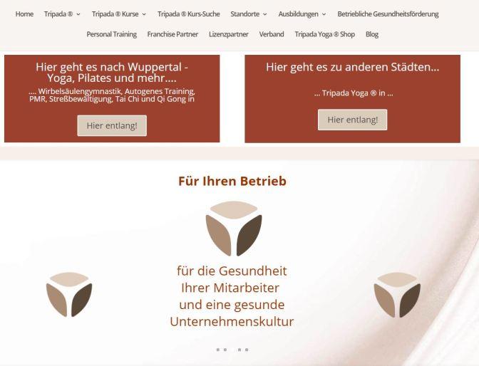 Tripada Webseiten- Relaunch